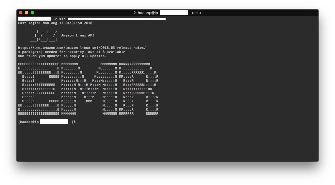 Setup a Spark cluster on AWS EMR – Perfectly Random
